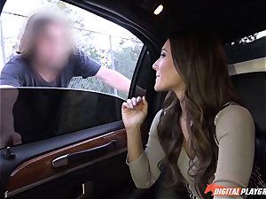 Eva Lovia picks up men off the street to shag