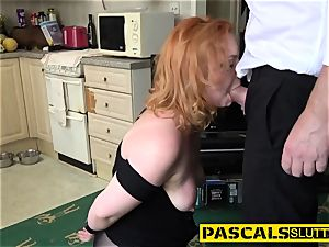 domination & submission ginger-haired rails knob